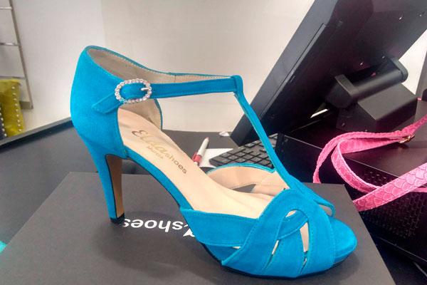 Zapatos de invitada personalizados en Murcia
